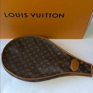 Authentic Louis Vuitton Tennis racquet cover case